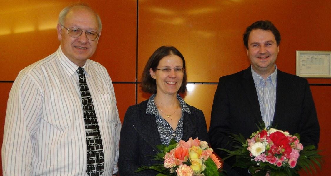Prof. Hamp, Dehnen, Kraus