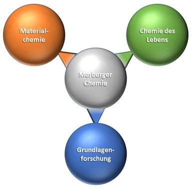 Schematische Darstellung des Forschungsprofils