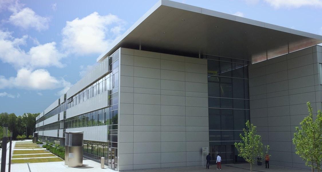 Neubau Chemie Südseite
