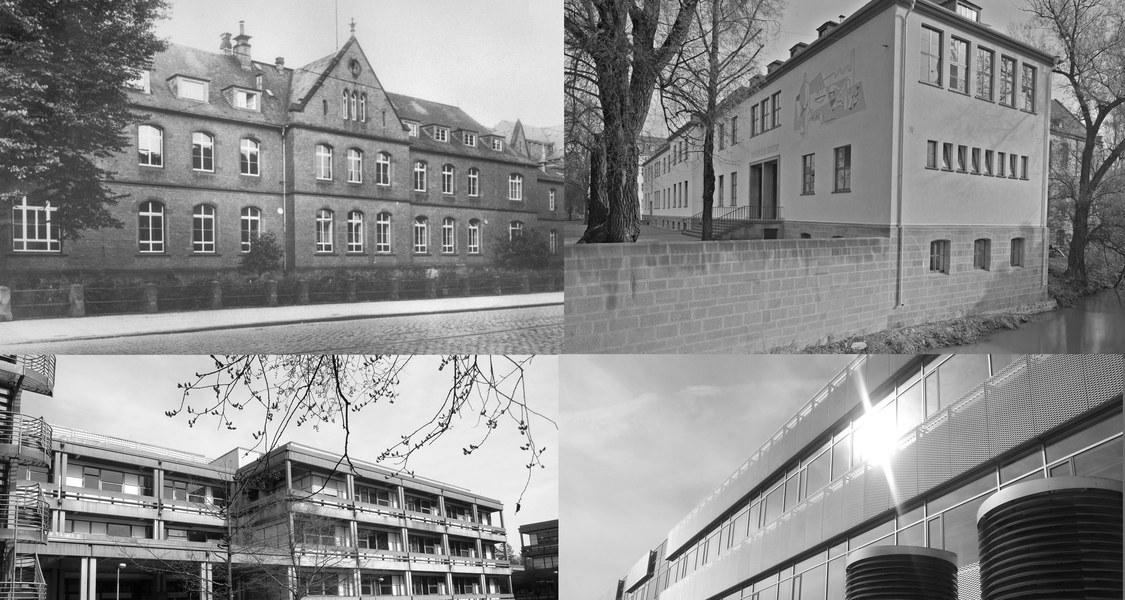 Institute der Chemie im Wandel der Zeit