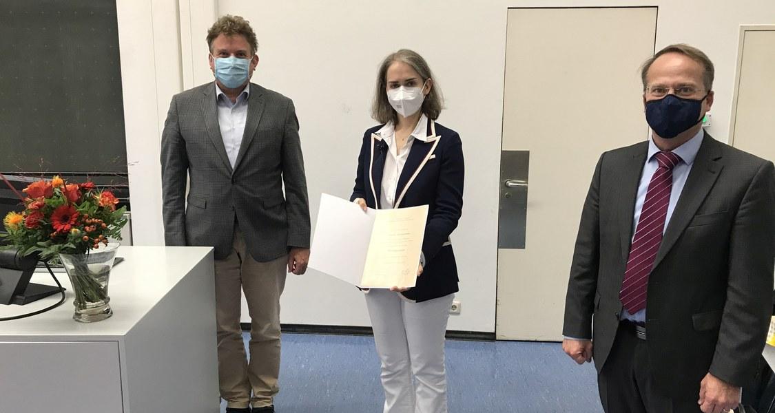 Antrittsvorlesung von Frau Privatdozentin Dr. Martina Hahn in Marburg