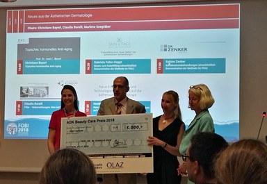 Beauty Care Preis für Arbeitsgruppe Prof. Cornelia Keck
