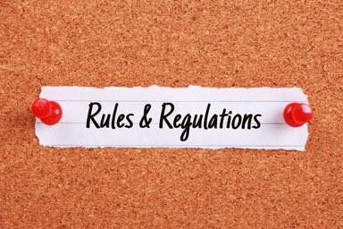 Rules Regulations Regeln
