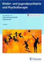 Buchcover Lehrbuch Kinder- und Jugendpsychiatrie in 7. Auflage