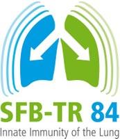 Logo: SFB/TRR 84 - Angeborene Immunität der Lunge: Mechanismen des Pathogenangriffs und der Wirtsabwehr in der Pneumonie