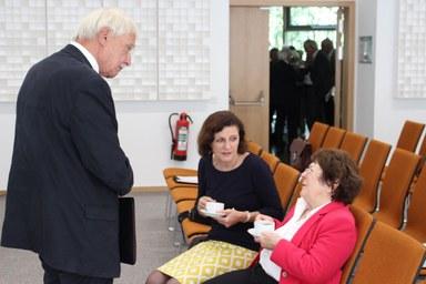 Prof. Dr. Dietrich Benner im Gespräch mit Dr. Monika Mundt und Hildegard Klafki