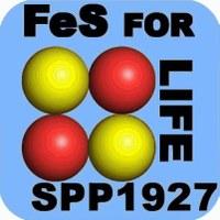 Abbildung: Logo des Schwerpunktprogrammes SPP 1927 - Iron-Sulfur for Life