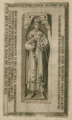 Grabplatte des Herzogs Widukind