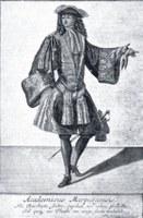 Academicus Marpurgensis, Marburger Student um 1700