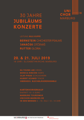 2019 Sommersemester Konzertplakat