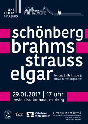 2016 Wintersemester Konzertplakat