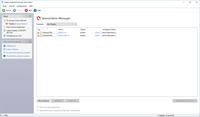 Benutzeroberfläche des Quarantäne Managers von Sophos Anti-Virus.