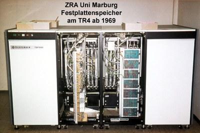 Festplattenspeicher für die Telefunken TR4 (ab 1969)