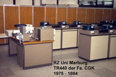 Gesamtansicht der CGK TR440 im Jahre 1975