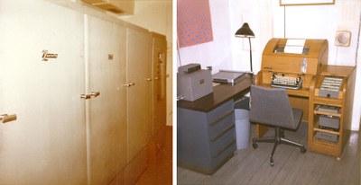 Röhrenrechner Zuse Z22 der Zentralen Rechenanlage der Universität Marburg. Betriebszeitraum 1963–1969