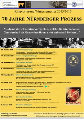 Poster Ringvorlesung WS 2015/16