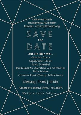 Flyer Alumni Vernetzung 16.06.20