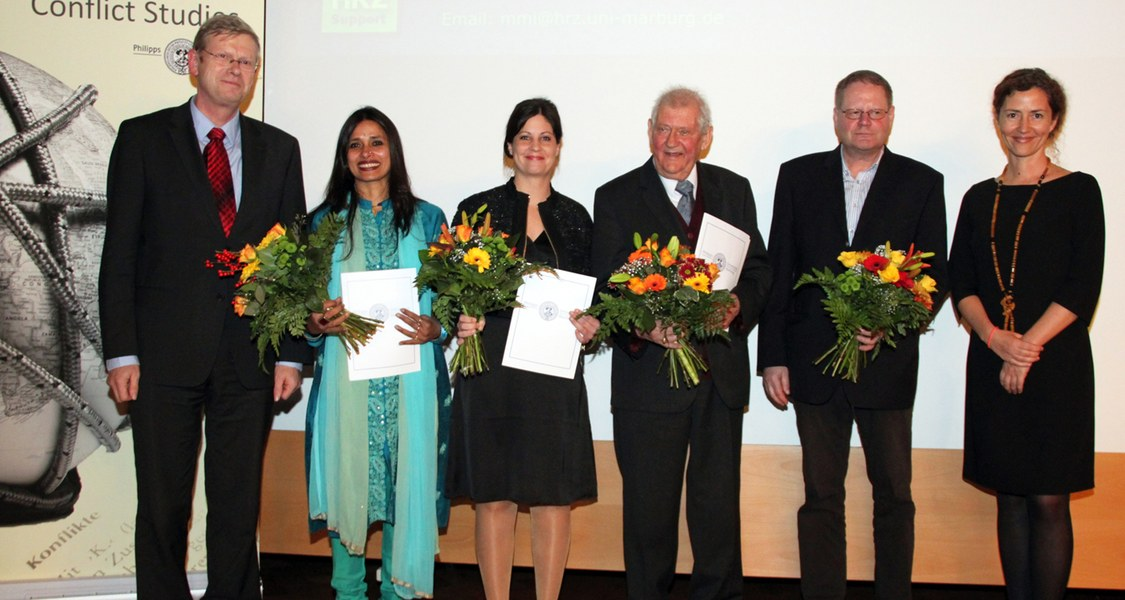 Peter-Becker-Preis 2012 Verleihung