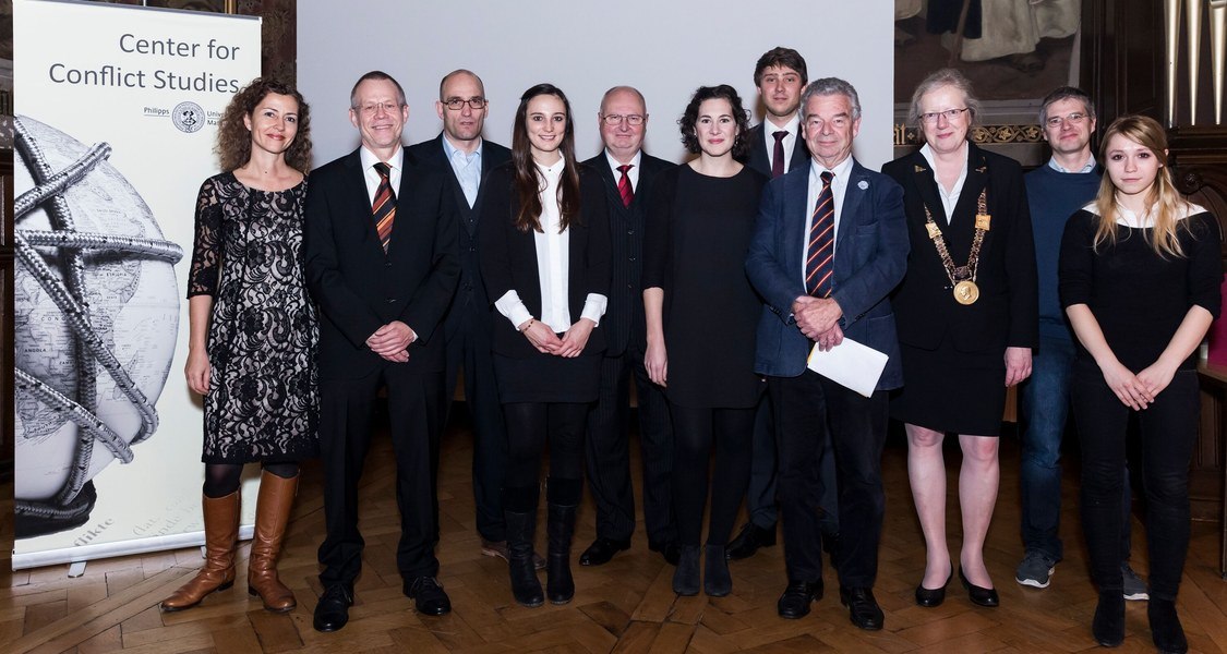 Peter-Becker-Preis 2014 Verleihung