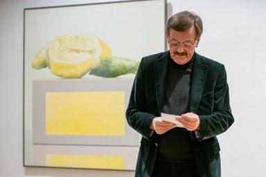 Ausstellungseröffnung, Rede von Rolf Gith