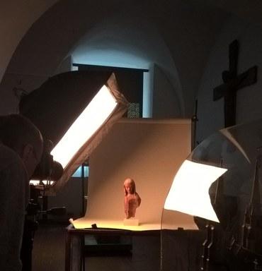 Digitalisierung einer Marienfigur