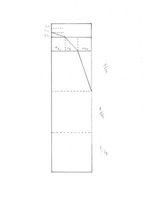 Konstruktionszeichnung eines Plexiglas-Zylinders