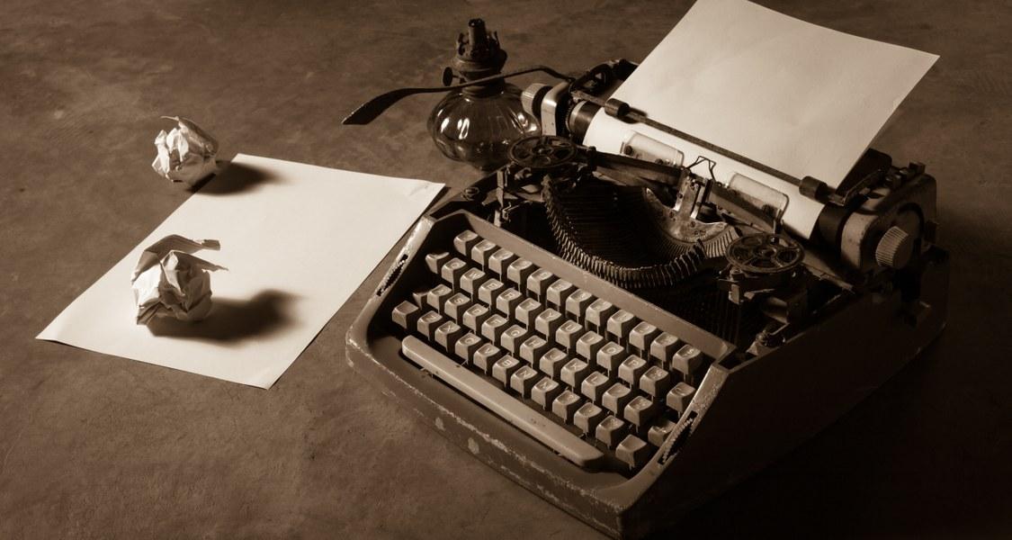 analoge Schreibmaschine