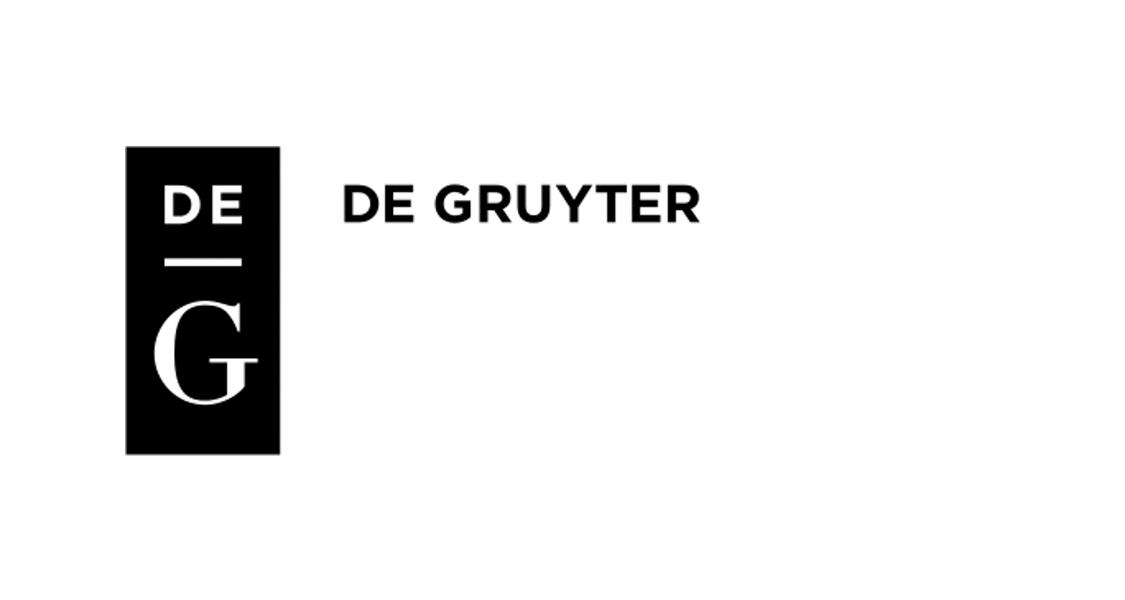 Logo von De Gruyter
