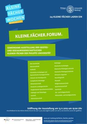 UB_Nachrichten_Plakat Kleine Faecher