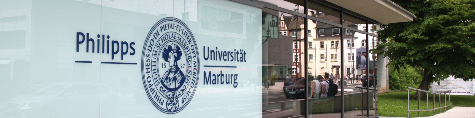 Eingang der Universitätsverwaltung