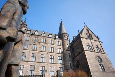 Fassade der Alten Uni