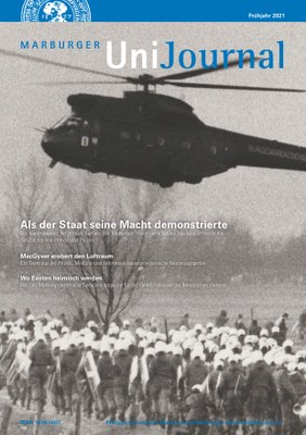 Unijournal Frühjahr 2021 Titelbild
