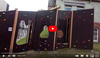 Video zur Boulderwand: Nutzungsbeispiele