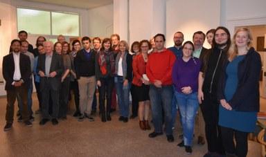 Teilnehmende des internationalen Workshops 2016.