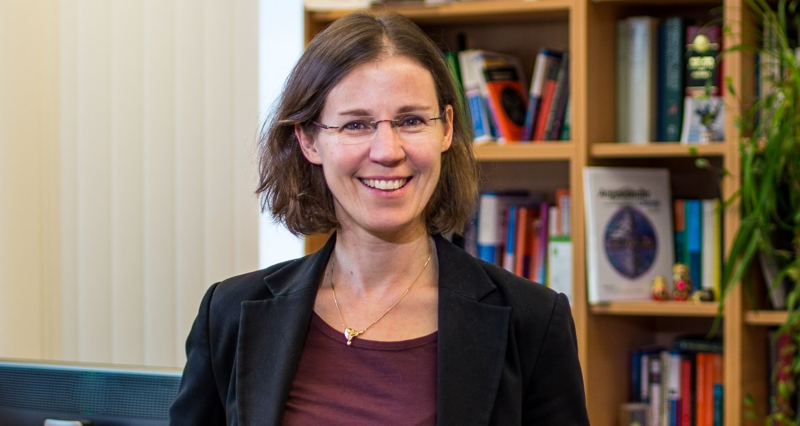 Here, you see a photo of Prof. Dr. Stefanie Dehnen.