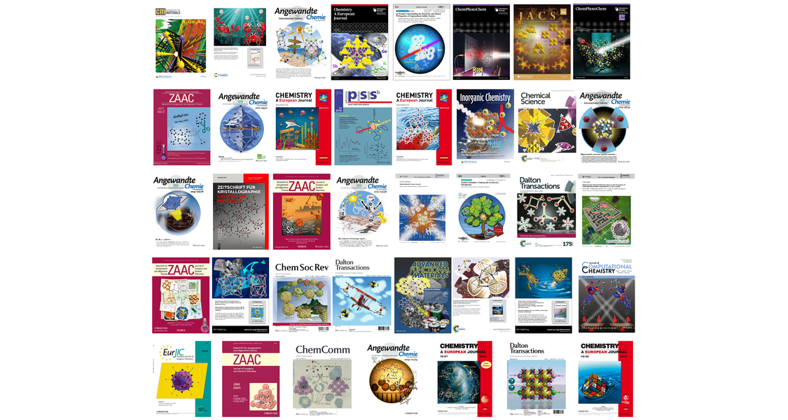 Here you see a collection of all cover pictures with a contribution of the Dehnen group