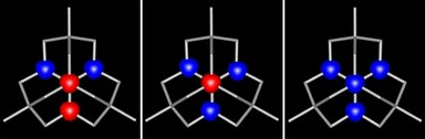 Here, you see a picture of magnetical couplings in a ternary anion.