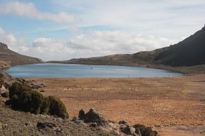 View of Lake Garba Guracha