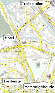 Map for navigation