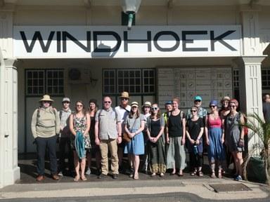 Namibia Windhoek Train Station